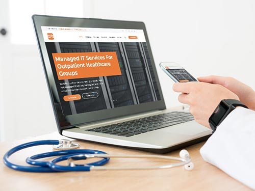 B2B Healthcare Website Development