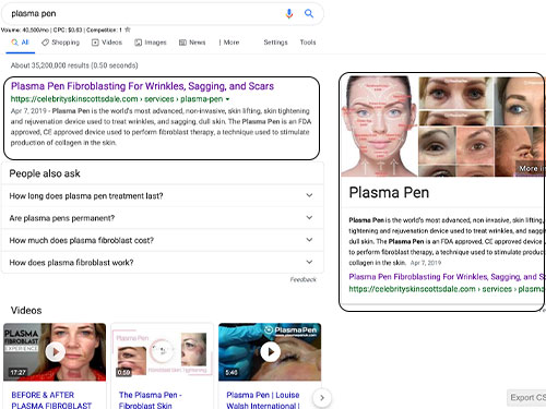 Dermatology marketing seo